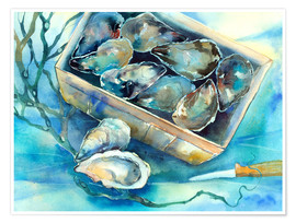 Poster oysters