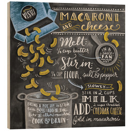 Bois  Recette Macaroni and Cheese (anglais) - Lily & Val
