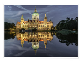Poster  Neues Rathaus - Hannover, Germany - Achim Thomae