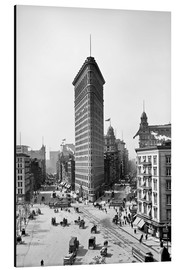 Alu-Dibond  New York City 1920, Flatiron Building - Sascha Kilmer