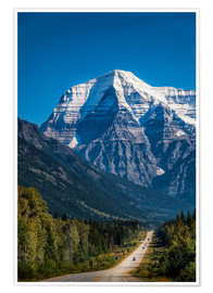 Poster  Mount Robson - Andreas Kossmann