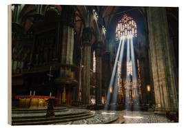 Bois  Beams of Light inside Milan Cathedral
