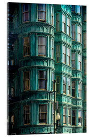 Tableau en verre acrylique  Columbus Tower, San Francisco