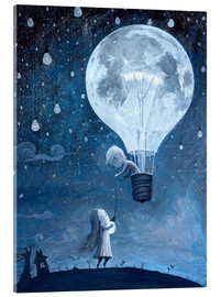 Verre acrylique  He gave me the brightest star - Adrian Borda