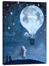 Toile  He gave me the brightest star - Adrian Borda