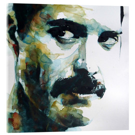 Verre acrylique  Freddie Mercury - Paul Paul Lovering Arts