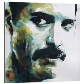 Tableau en aluminium  Freddie Mercury - Paul Lovering