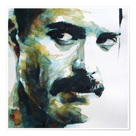 Poster  Freddie Mercury - Paul Lovering Arts