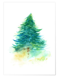 Poster Spruce Tree