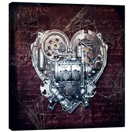 Toile  Old love does not rust - diuno