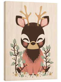 Bois  Animal friends - The deer - Kanzi Lue