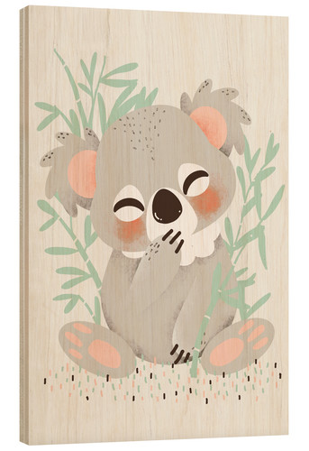 Poster Animal friends - The koala