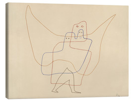 Tableau sur toile  In Angel's Care - Paul Klee