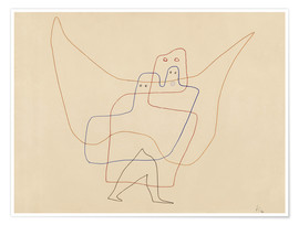 Poster  In Angel's Care - Paul Klee