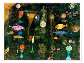 Paul Klee - fish magic