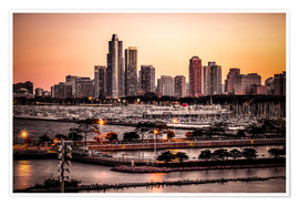 Poster Skyline de Chicago