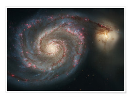 Poster  Spiral nebulae - beauty of the universe - Christian Müringer