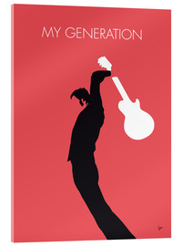 Verre acrylique  No002 MY THE WHO Minimal Music poster - chungkong