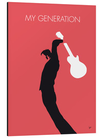 Tableau en aluminium  The Who, My Generation - chungkong