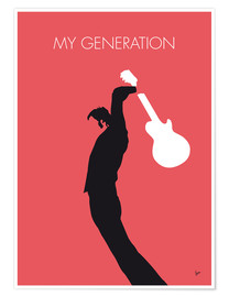 Poster  The Who, My Generation - chungkong
