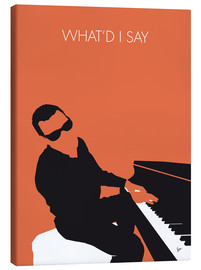 Tableau sur toile  Ray Charles, What'd I say  - chungkong