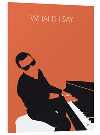 Tableau en PVC  Ray Charles, What'd I say - chungkong