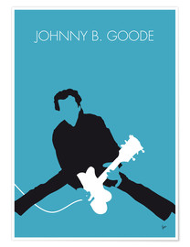 Poster Chuck Berry, Johnny B. Goode