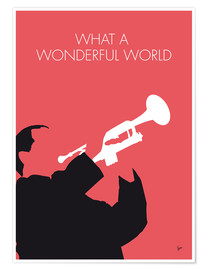 Poster  Louis Armstrong, What a wonderful world - chungkong