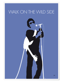 Poster Lou Reed, Walk on the wild side