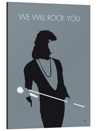 Tableau en aluminium  Queen, We will rock you - chungkong