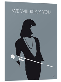 Tableau en PVC  Queen, We will rock you - chungkong