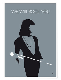 Poster Queen, We will rock you