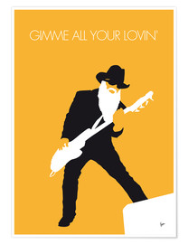 Poster  ZZ Top, Gimme all your lovin' - chungkong