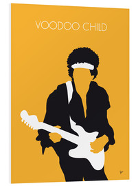 Tableau en PVC  Jimi Hendrix, Voodoo Child - chungkong
