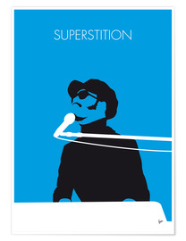 Poster Stevie Wonder, Superstition