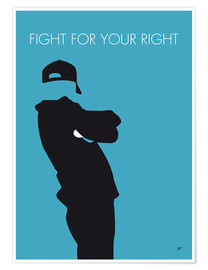 Poster Beastie Boys, Fight for your right