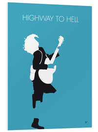 Tableau en PVC  ACDC, Highway to hell - chungkong