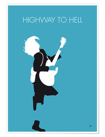 Poster  ACDC, Highway to hell - chungkong