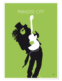 Poster Guns And Roses, Paradise City