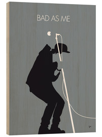 Bois  No037 MY TOM WAITS Minimal Music poster - chungkong