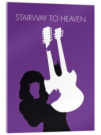 Tableau en verre acrylique  Led Zeppelin, Stairway to heaven - chungkong