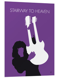 Tableau en PVC  Led Zeppelin, Stairway to heaven - chungkong