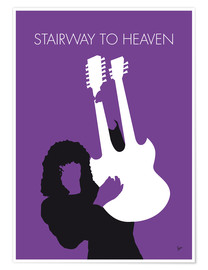 Poster  No011 MY Led zeppelin Minimal Music poster - chungkong