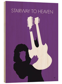 Tableau en bois  Led Zeppelin, Stairway to heaven - chungkong