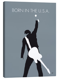 Tableau sur toile  Bruce Springsteen, Born in the U.S.A. - chungkong