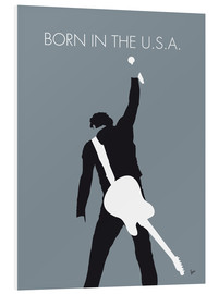 Tableau en PVC  Bruce Springsteen, Born in the U.S.A. - chungkong