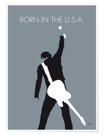 Poster  Bruce Springsteen, Born in the U.S.A. - chungkong
