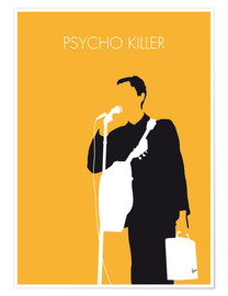 Poster My Talking Heads, Psycho Killer