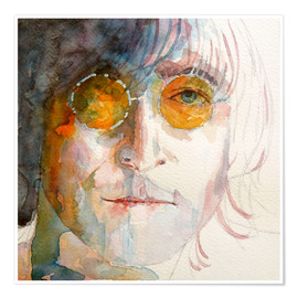 Poster  John Winston Lennon - Paul Lovering Arts