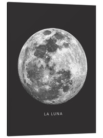Tableau en aluminium  La Luna - Finlay and Noa